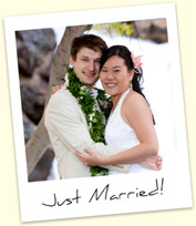 Michael Karikas and Alice Tong - Just Married!